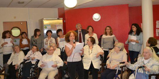 Atelier Yiddish à la Résidence Amaraggi