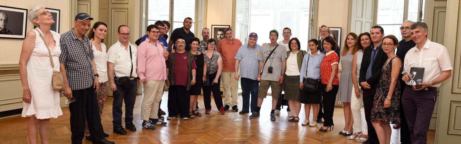 Vernissage de l'exposition Autres Regards à la mairie du 9e à Paris
